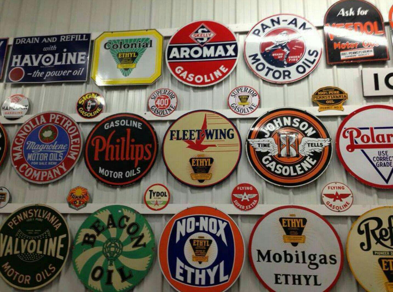 vintage metal signs near me