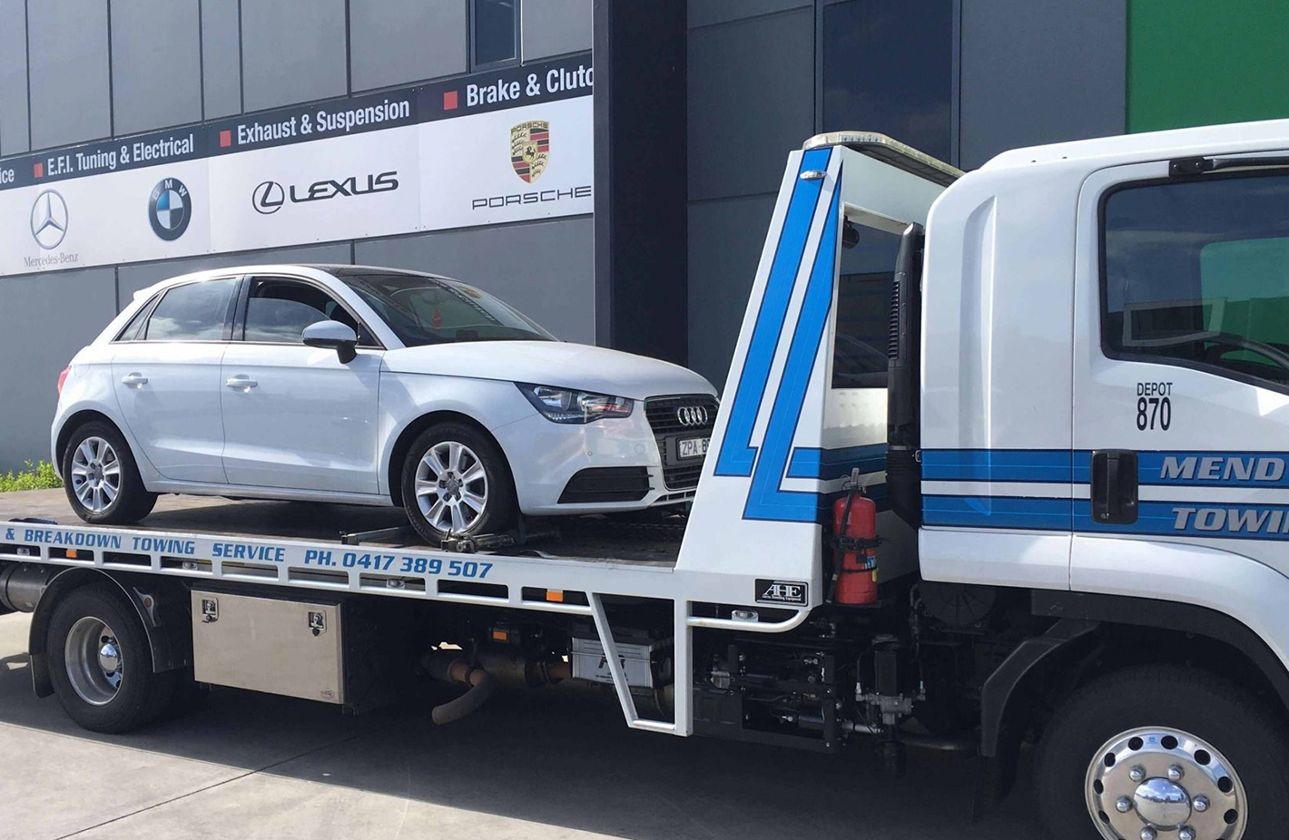 towing service cost